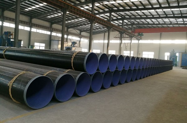 Internal Epoxy External PE Coated Steel Pipe