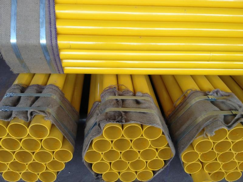 Coated Pipe for Fuel Gas