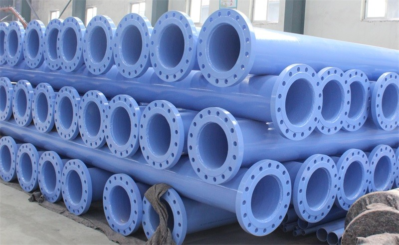 Flanged Drainage Coating Pipe
